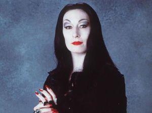 Morticia-Addams trucco